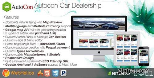 CodeCanyon - Autocon Car Dealership v1.3 - 12906703