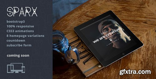 ThemeForest - Sparx v1.0.2 - Responsive Coming Soon Html5 Template - 7896199