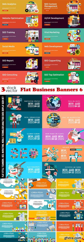 Vectors - Flat Business Banners 6