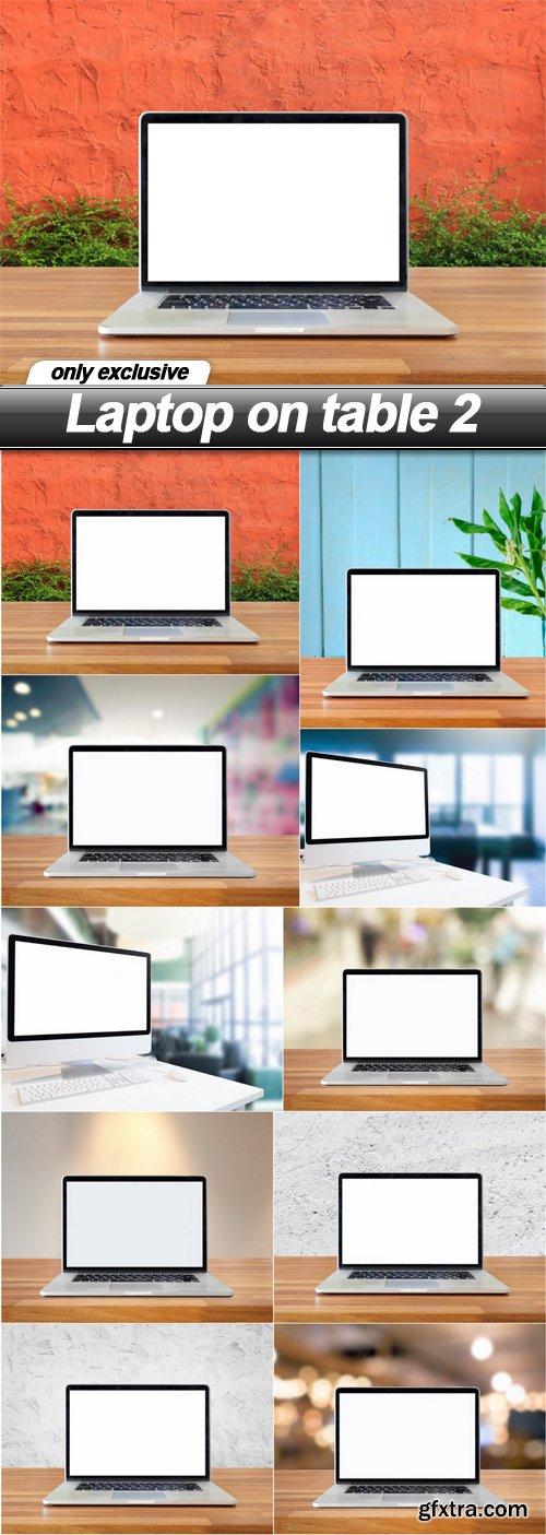Laptop on table 2 - 10 UHQ JPEG