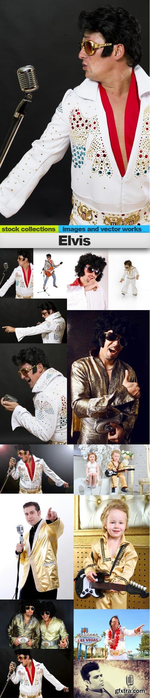 Elvis, 15 x UHQ JPEG