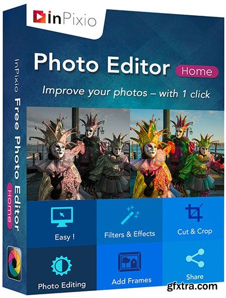 InPixio Photo Editor Home 1.5.5893