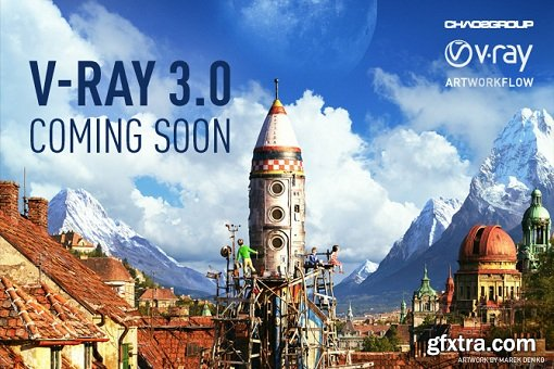 Vray Adv 3.3 for 3ds Max 2016 (Full)