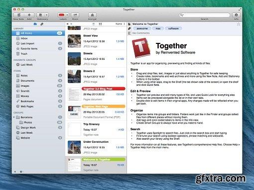 Together 3.5.7 (Mac OS X)