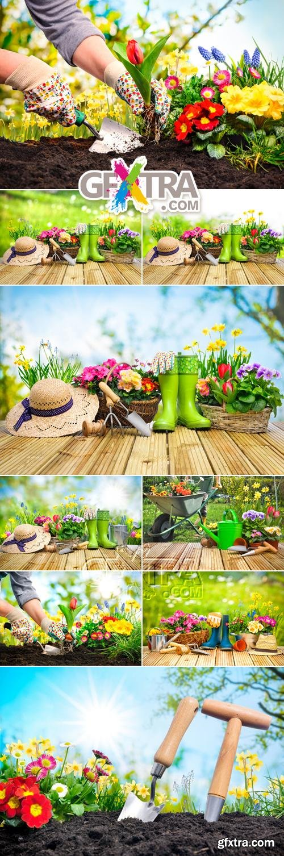 Stock Photo - Spring Gardening 4