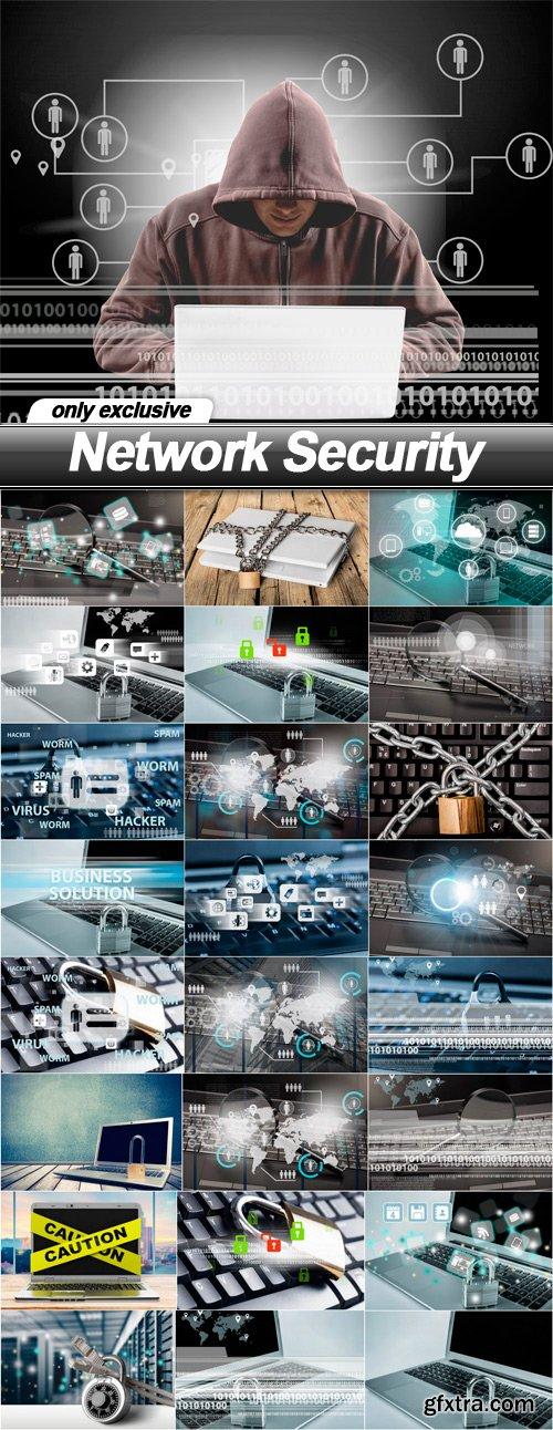 Network Security - 25 UHQ JPEG