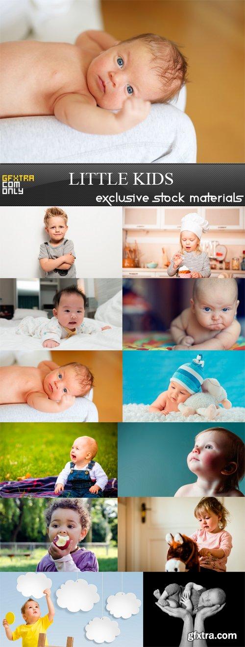 Little Kids - 12 x JPEGs