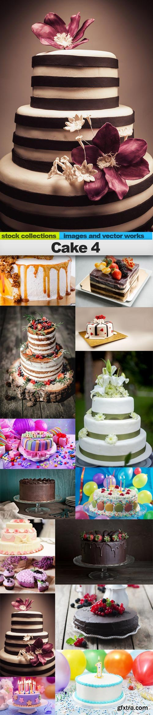 Cake 4, 15 x UHQ JPEG