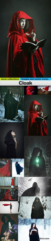 Cloak, 15 x UHQ JPEG