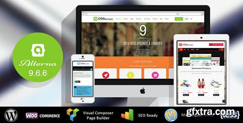 ThemeForest - Alterna v9.6.6 - Ultra Multi-Purpose WordPress Theme - 3946450