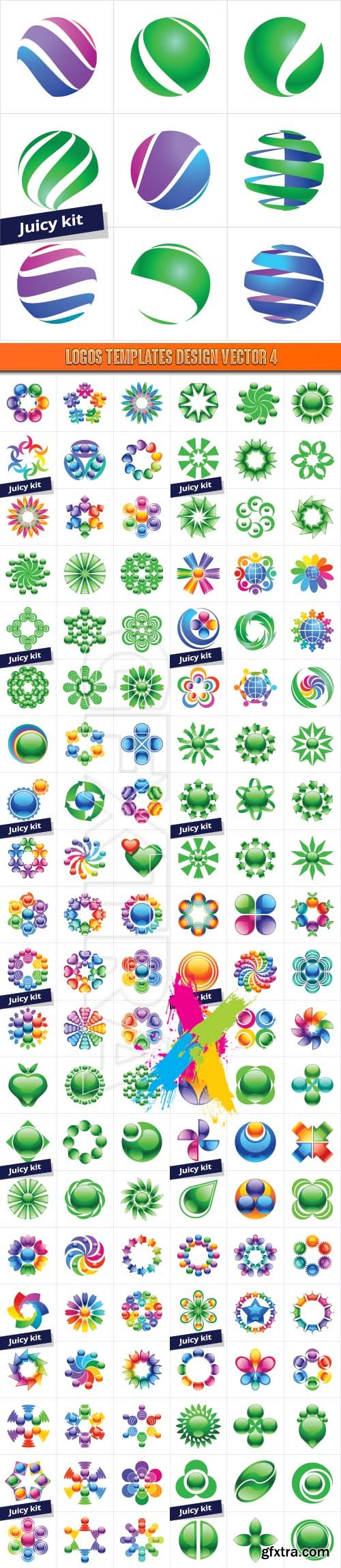 Logos Templates Design Vector 4