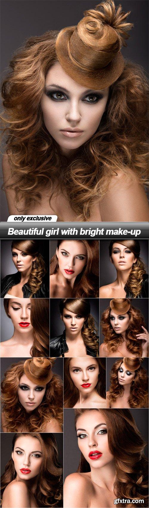Beautiful girl with bright make-up - 11 UHQ JPEG