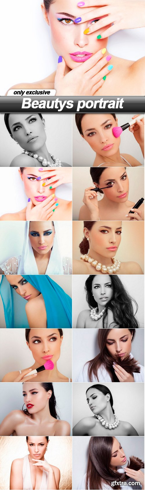 Beautys portrait - 14 UHQ JPEG