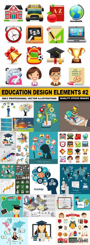 Education Design Elements #2 - 25 Vector