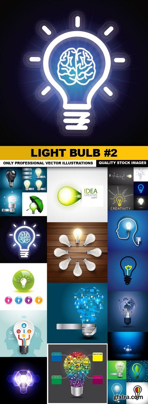 Light Bulb #2 - 25 Vector