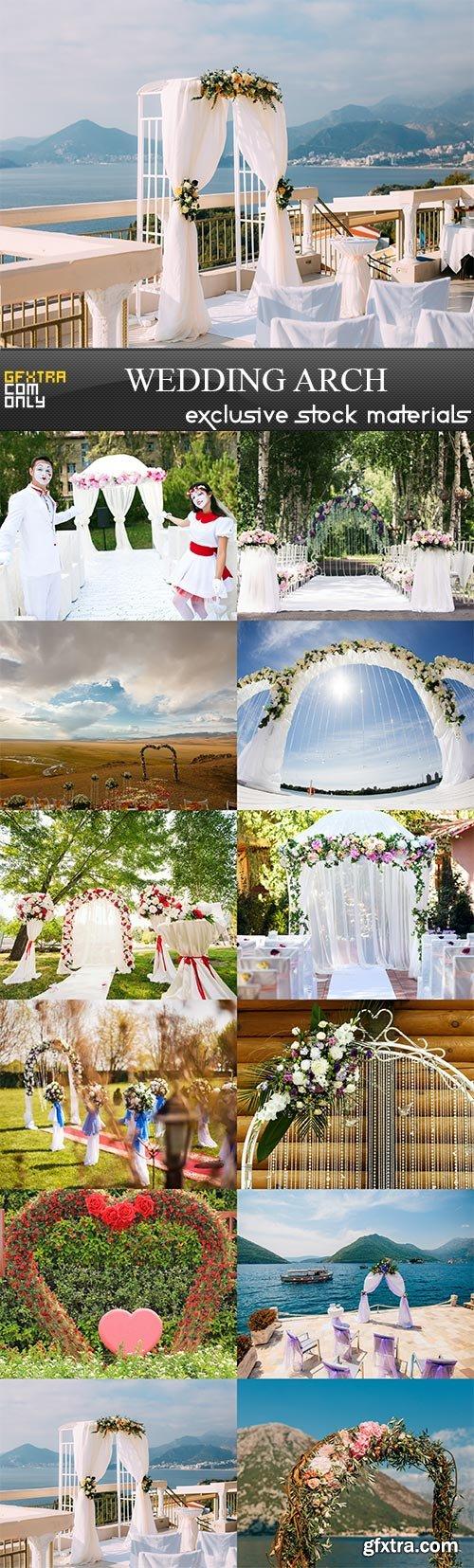 Wedding arch, 12  x  UHQ JPEG