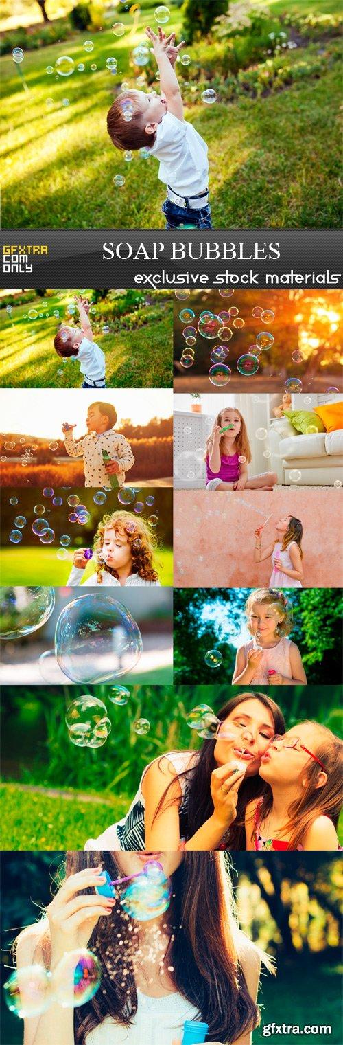 Soap Bubbles - 10 x JPEGs