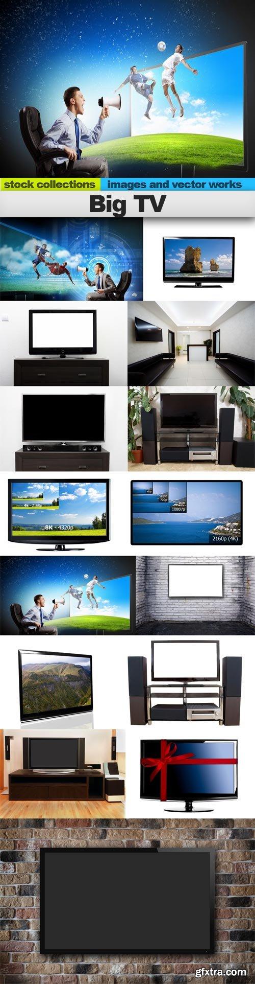 Big TV, 15 x UHQ JPEG