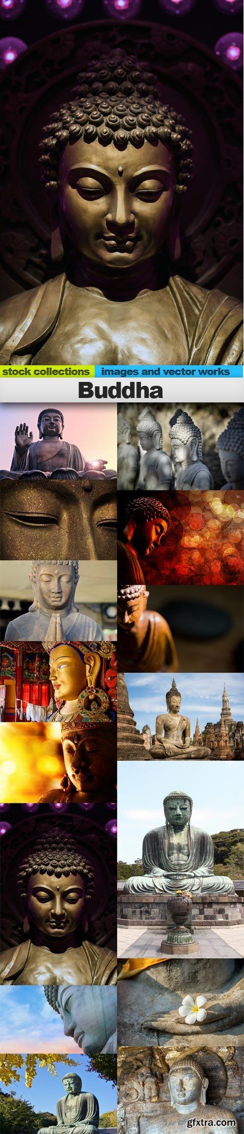 Buddha, 15 x UHQ JPEG