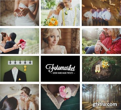 CreativeMarket 40 Film Wedding Lightroom Presets 260270