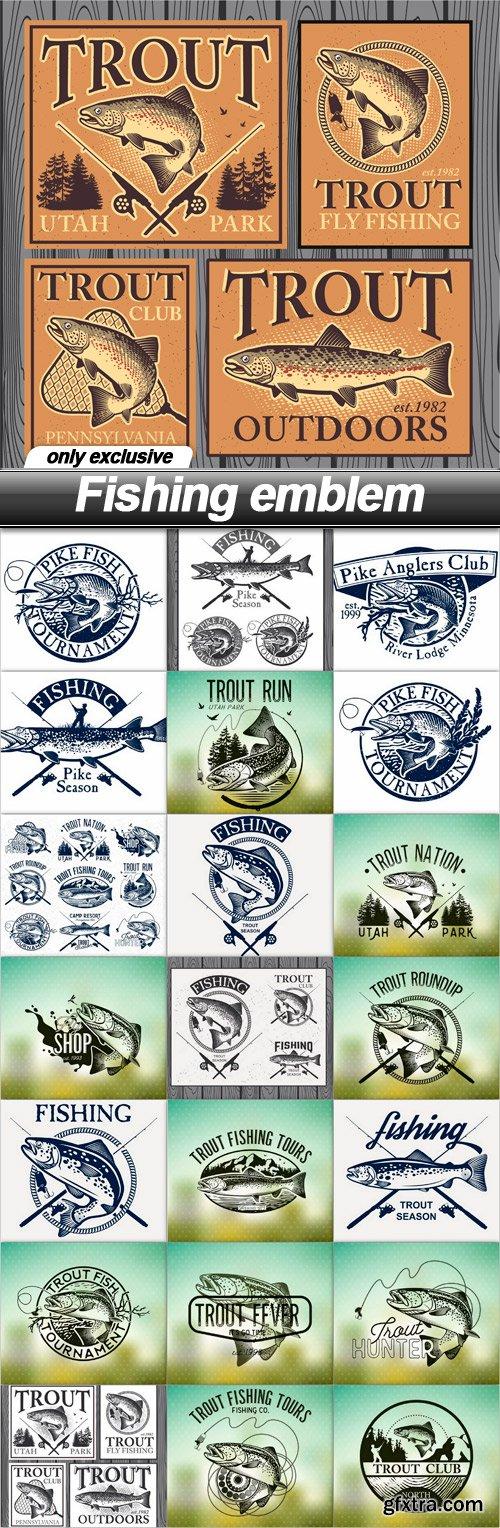 Fishing emblem 2 - 22 EPS