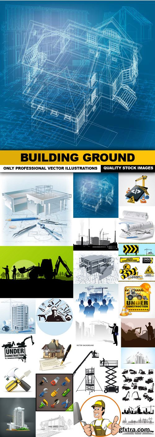 Building Ground - 25 Vector