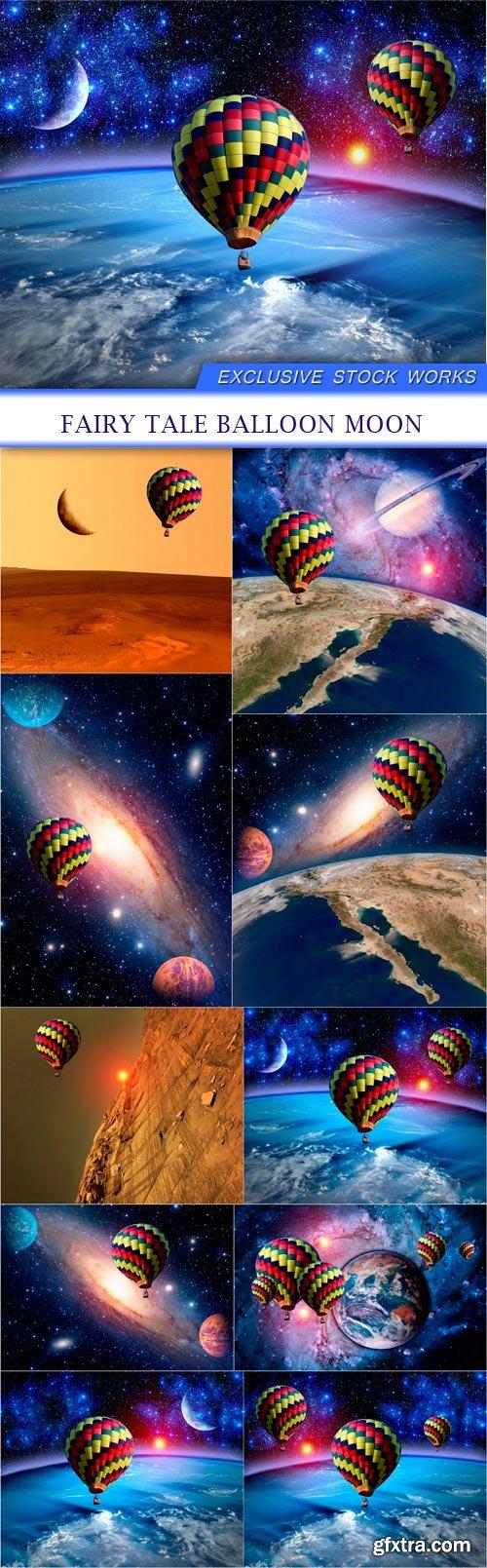 Fairy Tale Balloon Moon 10X JPEG