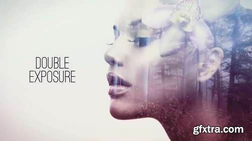 Videohive Double Exposure Parallax Titles 15376270