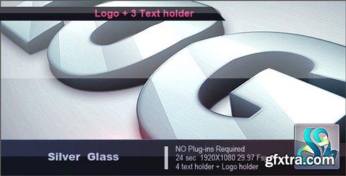 Videohive - Silver Glass Logo - 2034598