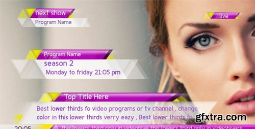 Videohive - New Lower Thirds Package - 7143751