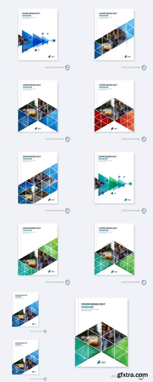 Abstract Cover Design, Business Brochure Template Layout, Report, Booklet in A4