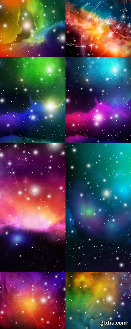 Astrology Mystic Background - Outer Space
