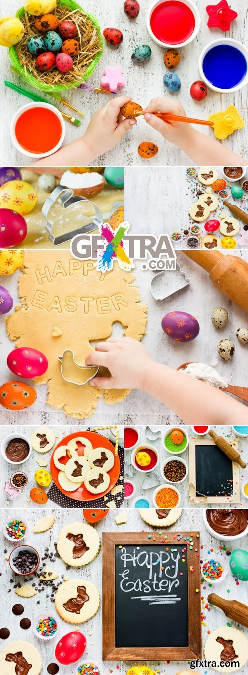Stock Photo - Easter Preparations