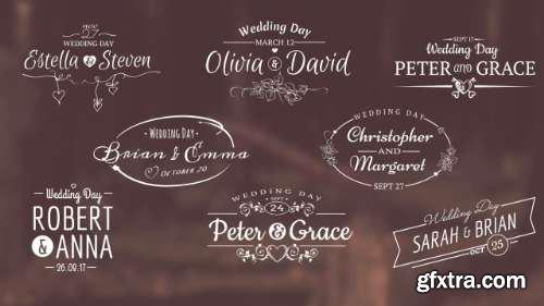 Pond5 Wedding Titles 60976520