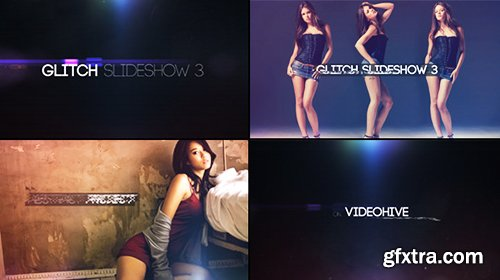 Videohive Glitch Slideshow 3 9911143