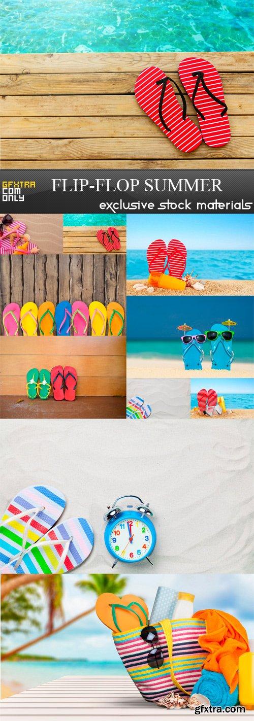 Flip-Flop Summer - 10 x JPEGs