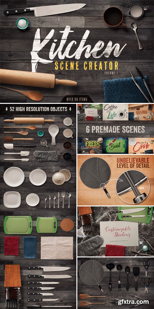 CM 497084 - Kitchen Scene Creator Volume 1