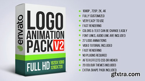 Videohive Logo Animation Pack V2 14603270