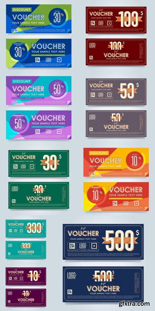 Gift Discount Voucher Template - Special Offer Coupon