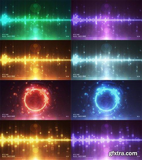 Videohive Audio Spectrum Music Visualizer 10923661