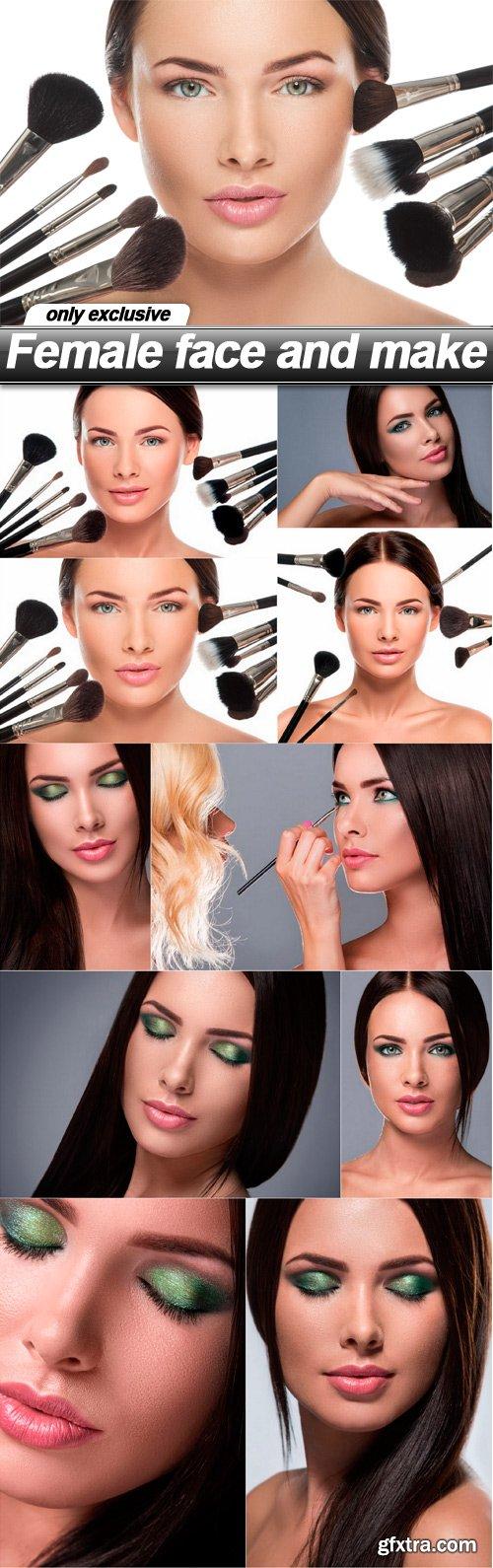 Female face and make - 10 UHQ JPEG