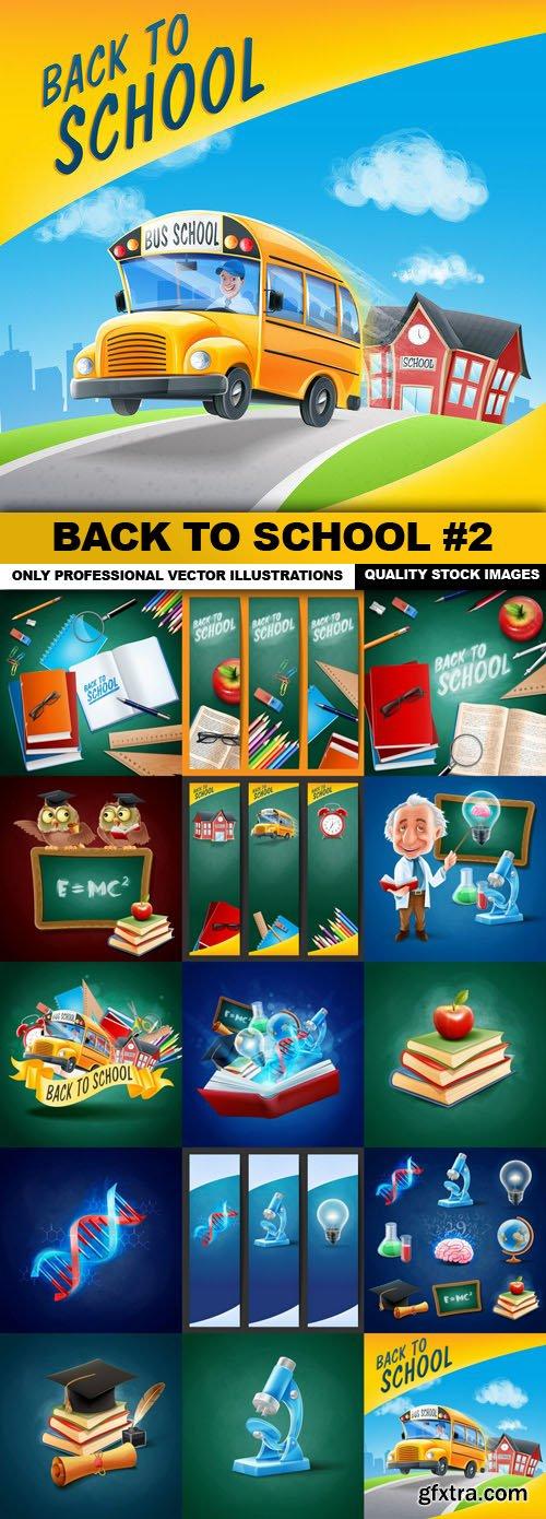 Back To School #2 - 15 Vector