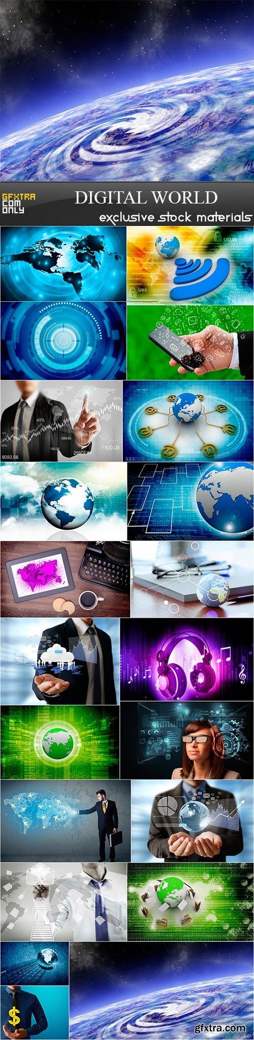 Digital world,21 x UHQ JPEG
