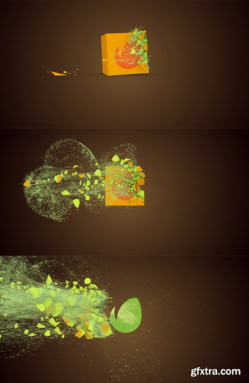 Videohive - Motion Particles Logo - 11094370