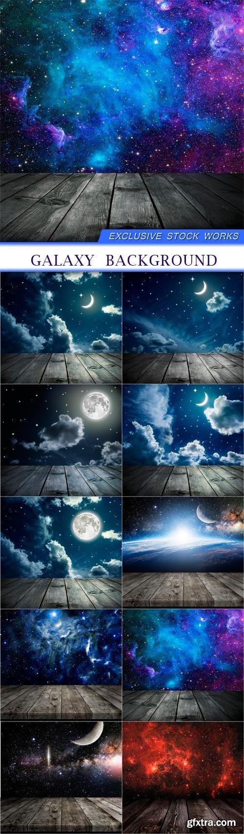 galaxy background 11X JPEG