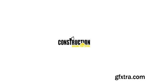 Videohive Construction Logo 14880912