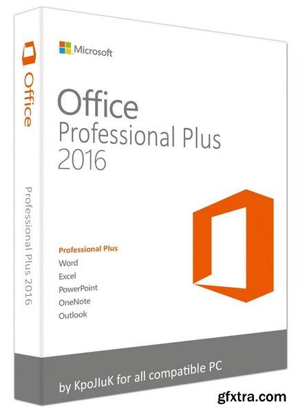 Microsoft Office 2016 Professional Plus + Visio Pro + Project Pro 16.0.4366.1000 (x64)