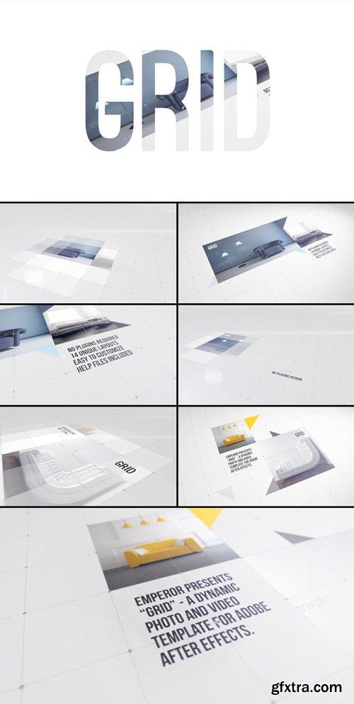 Videohive - Grid Video Display - 3030184