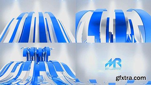 Videohive Wavy Ribbons Logo Reveal 10471122