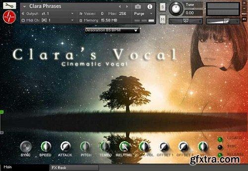 Findasound Claras Vocal v2.1 KONTAKT PROPER